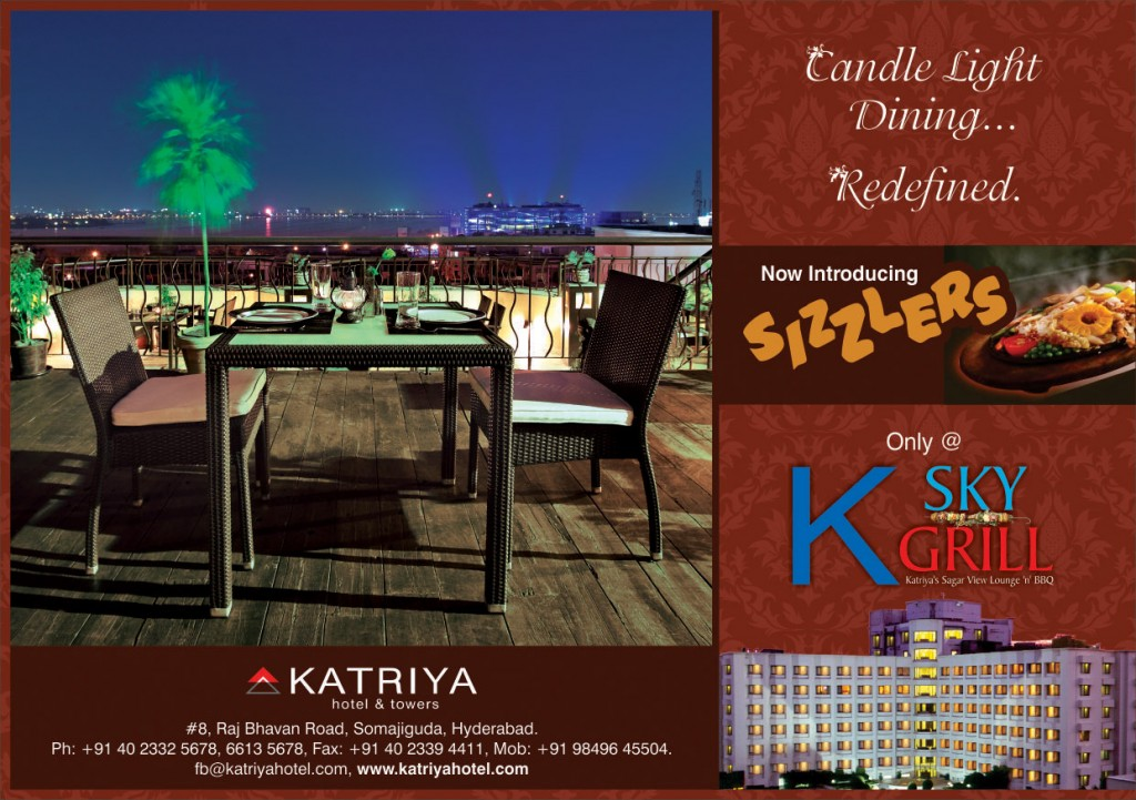 Candle Light Dining in a Redefined Style @ Katriya
