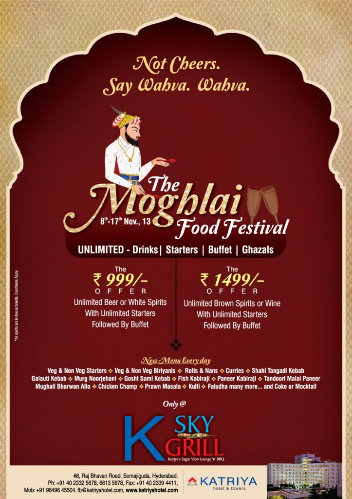 The Moghlai Food Festival @ K Sky Grill