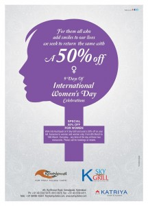International Women's Day Celebrations in Katriya Hotel