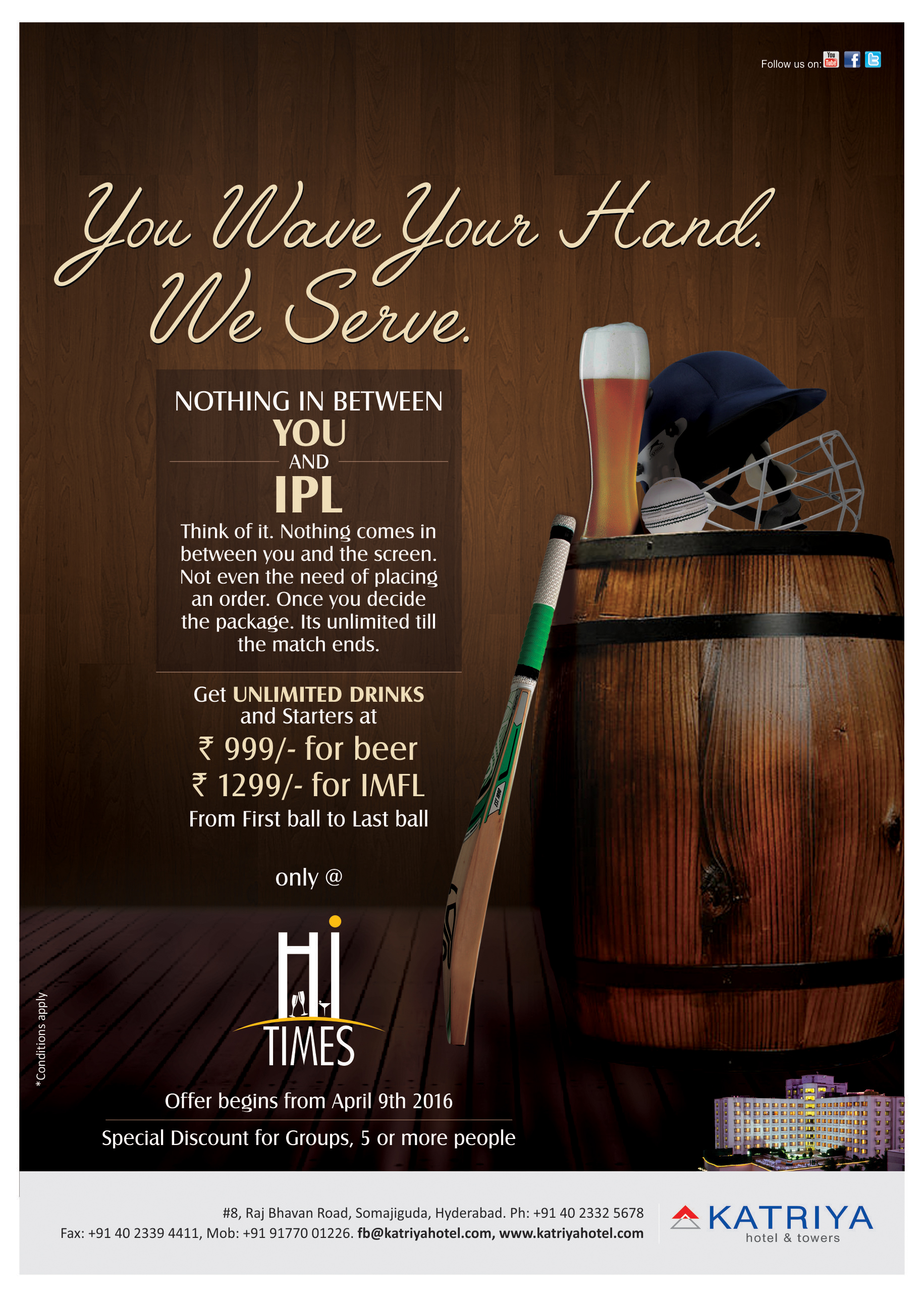 IPL in Hyderabad