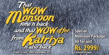 Restaurant in Hyderabad - Special Monsoon Package