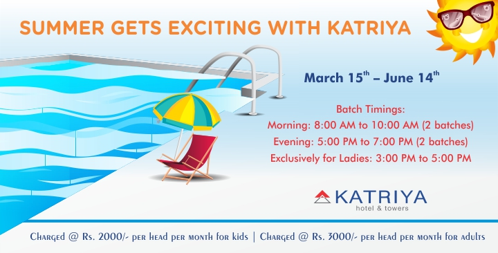 Swimming Pool at Katriya