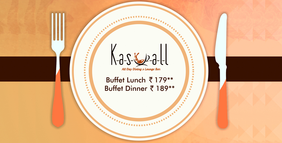February Offer - Buffet Lunch and Dinner in Hyderabad at Kasuall Restaurant