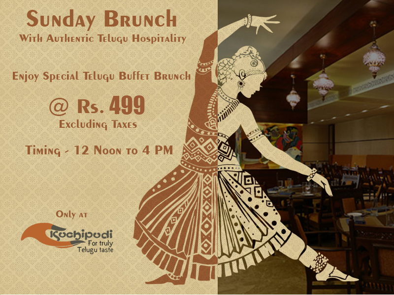 Sunday Telugu Buffet Brunch at Kuchipudi Restaurant